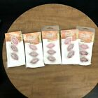 5 Lot ColorBox Fluid Chalk Cats Eye Lipstick Ink Pads 3 Pkg Rouge Pink And Red