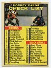 1961-62 Topps Hockey Cards 14