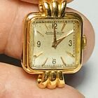 Extremely Rare Jaeger LeCoultre  Very Fancy 18k Gold Ladies Wrist Watch
