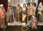 ROBERT STANLEY 2011 THE PROMISE OF CHRISTMAS DELUXE 8 PC SET NATIVITY SCENE