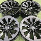 20 TESLA MODEL X RIMS GLOSS BLACK FACTORY OEM GENUINE SET MODELX INCH 20