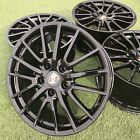 Factory Porsche BOXSTER 987 Wheels Genuine OEM SPORT PLUS SportLine 997 BLACK