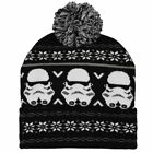 Star Wars Storm Trooper Fair Isle Pom Beanie