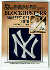 2012 Topps Update Series Baseball Blockbusters Patch Cards Guide 36