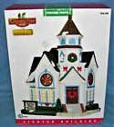 Lemax Lighted Rosebud Chapel Christmas Village in Box