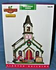 Lemax Lighted Buckleberry Church Christmas Village in Box