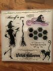 CTMH Wicked stamp set S1108 Halloween witch