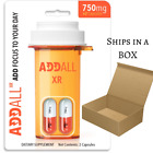Brain Boost Supplement Addall XR Focus, Memory, Concentration Supplement 750 mg