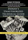 Donny's Tech Guide to Harley-Davidson Shovelhead 1966-1985 Part 1~Softcover~NEW!