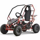 MotoTec Maverick Go Kart Electric 36v 500w Red BatteriesThree 12v 12ah