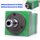 Bt30 Spindle Unit Power Head 6000rpm8000rpm For Cnc Engraving Milling Machine