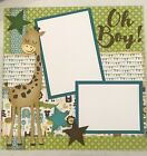 Scrapbook layout kit 2 pages