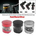 CNC Front Brake Pump Motorcycle Oil Pot Clutch Cylinder Fluid Oil Reservoir Cup