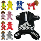 2 4 Legs Adidog Jumpsuit Hoodie Sweatshirt Sweater Apperal for Pets Dog Puppy