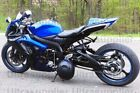 Matte Black w/ Blue Fairing Injection for Suzuki GSXR GSX-R 600 750 2006-2007