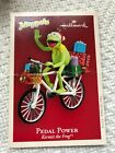 Hallmark Keepsake Kermit The Frog Pedal Power Muppets Ornament 2004