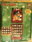 Bucilla Felt Advent Calendar Embroidery Kit Nativity 84268 USA 2000 Complete Kit