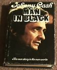 SIGNED Man In Black by Johnny Cash Autographed First Edition Book VERY RARE