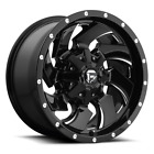 4 20x9 Fuel Gloss Black  Mill Cleaver Wheel 6X135  6X1397 For Ford Jeep