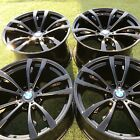 20 INCH BMW WHEELS RIMS FACTORY BLACK X5M X6M STOCK X5 X6 20 21