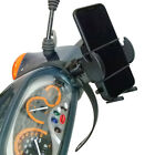 Scooter Moped Collar Phone Mount with Adjustable Holder for Motorola Devices