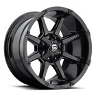4 20x10 Fuel Gloss Black Coupler Wheels 6X135  6X1397 For Ford Toyota Jeep