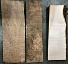 3 Curly Big Leaf Maple boards for 1 lot price gripsscales boxes 121619 6