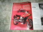 1984 Moto Guzzi 850 Le Mans III Colorful Cycle ad