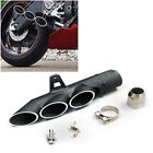 38-51mm Motorcycle ATV Dirt Bike Exhaust Muffler Pipe Three-outlet Tail Pipe Set
