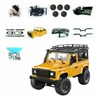 RC 4WD Crawler Car 2.4G Remote Control Off-road Military Vehicle Toys MN-90K
