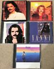 Yanni 5 CD Lot Reflections, Tribute, Dare to Dream Out of silence Niki  Nana