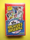 2017 TOPPS ARCHIVES BASEBALL SEALED HOBBY BOX LOADED WITH RC's, RELICS