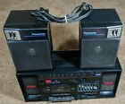 Panasonic RX-C38 Boombox AM FM Cassette Recorder - Tested & Fully Functional