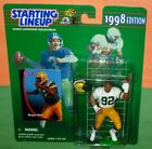 1998 REGGIE WHITE Green Bay Packers * FREE s/h * final Starting Lineup
