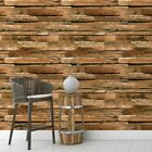 Brown Wood Peel and Stick Wallpaper Contact Paper Decor Self Adhesive Film Vinyl