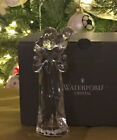 WATERFORD CRYSTAL NATIVITY COLLECTION SHEPHERD WITH LAMB FIGURINE MINT IN BOX 6