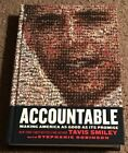 SIGNED  INSCRIBED Accountable by Tavis Smiley Autographed Book Obama RARE