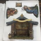 THOMAS KINKADE HAWTHORNE VILLAGE HOLY FAMILY  CRECHE NATIVITY SET MANGER SCENE