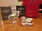 Waterford Crystal The Nativity Collection SHEEP LAMB PAIR MIB w Sleeve