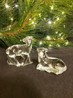 Waterford Crystal The Nativity Collection SHEEP LAMB PAIR Mint