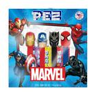 Marvel PEZ Collectible Gift Set 4 Marvel Character Dispensers 6 Candy Refills