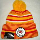 KANSAS CITY CHIEFS 2019 NEW ERA NFL ON FIELD HOME SPORT KNIT BEANIE HAT NEW/TAGS