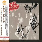 Metal Church - Blessing In Disguise (Japan CD w/OBI) Signed by 3 band members