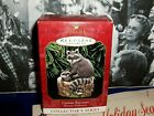 Curious Raccoons`1999`Third In Majestic Wilderness Series,Hallmark Ornament-