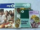 Weight Watchers MY WW Plan BLUE GREEN PURPLE Food Plans Guide Set NEW 2020