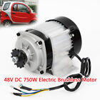 Electric Brushless Motor Tricycle Motor 48V DC 750W with Controller DIY Tricycle