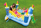 Intex Inflatable Fantasy Castle Water Play Center Kids Pool  57138EP Open Box