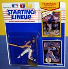 1990 MARK GRACE Chicago Cubs EX/NM power swing *FREE s/h* Starting Lineup + 1988