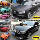 Flexible Matte Glossy Bright Glitter Car Vinyl Wrap Satin Sticker Bubble Free US