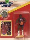 1991 Starting lineup Isiah Thomas figure Card Coin toy Detroit Pistons Bad Boys